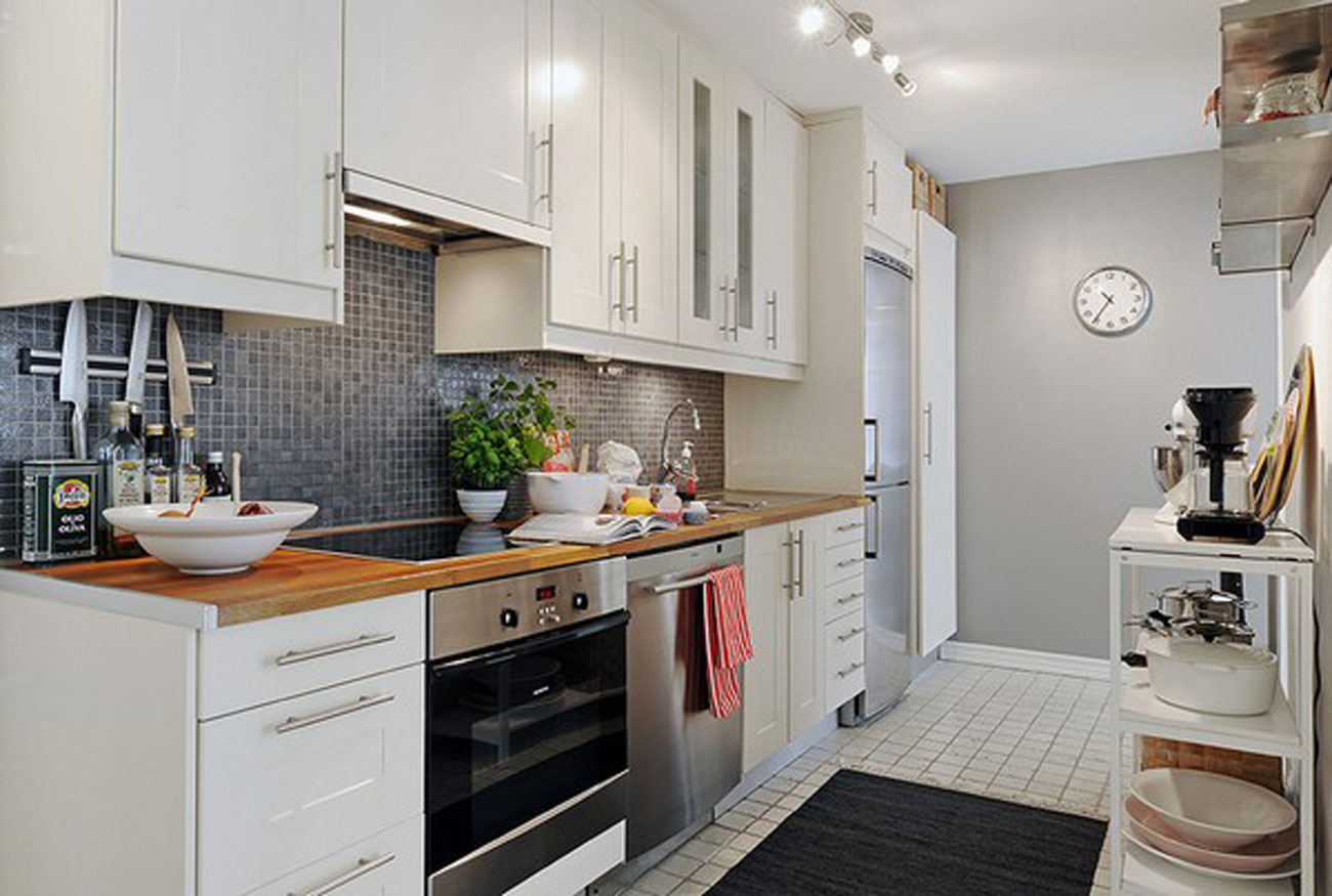 Elegant White Interior Design Of A Minimalist Duplex