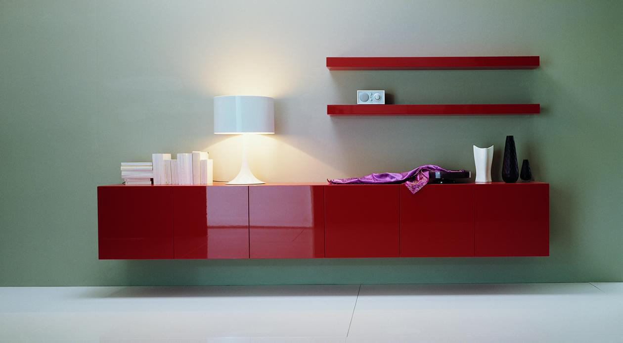 Modern Italian Furniture red design