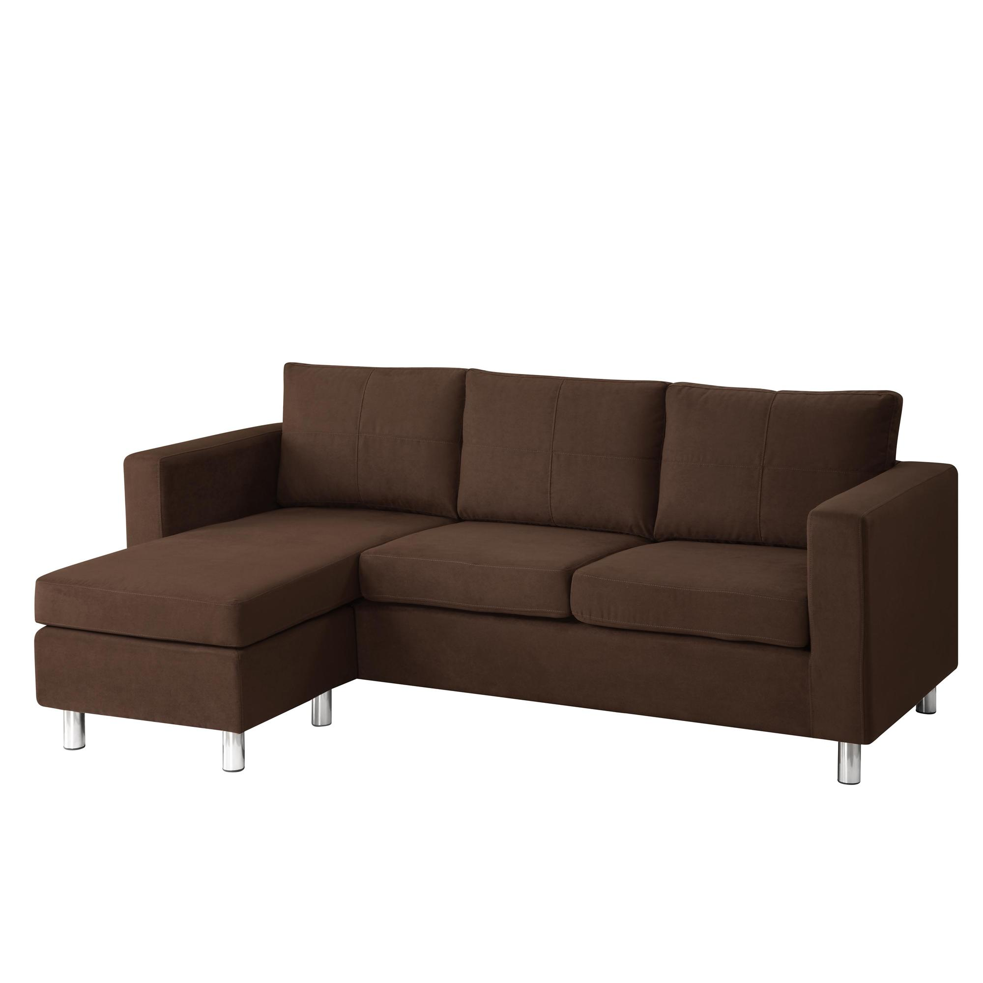 modern sofa colors side elevation cad block free astonishing minimalist brown color small sectional