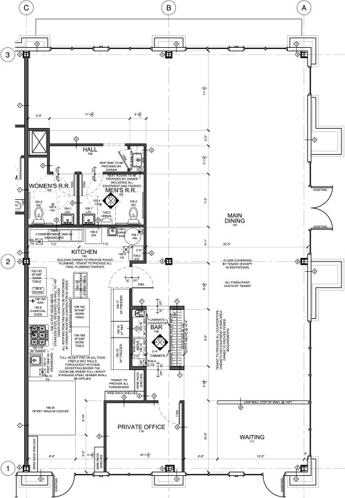 small resolution of restaurant kitchen diagram