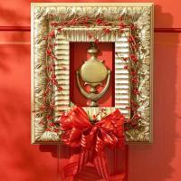 Christmas Front Door Decorations Red | Viahouse.Com