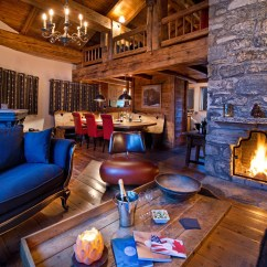 Fun Living Room Ideas Decorating Tips For Modern Ski Chalet | Viahouse.com