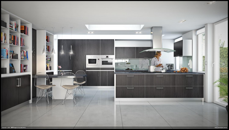 Contemporary Kitchen Design Viahouse Com