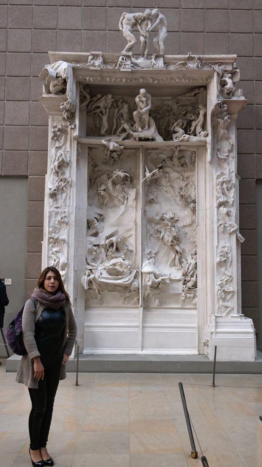Las puertas del infierno de Rodin.