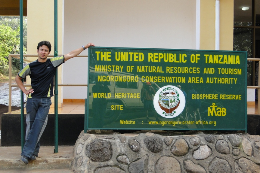 Entrada al Ngorongoro