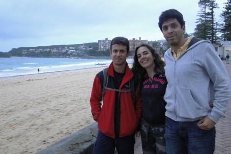 En Manly con Carolina y Jaime, nuestros anfitriones
