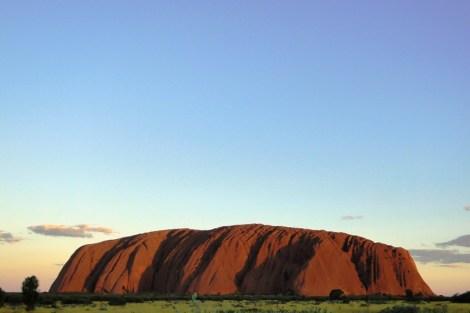 Uluru al atardecer