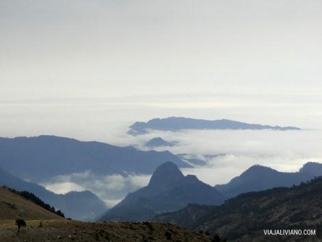 Vista desde El Refugio Piedra Grande
