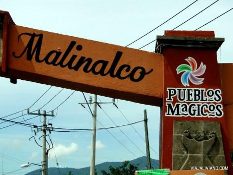 Entrada a Malinalco