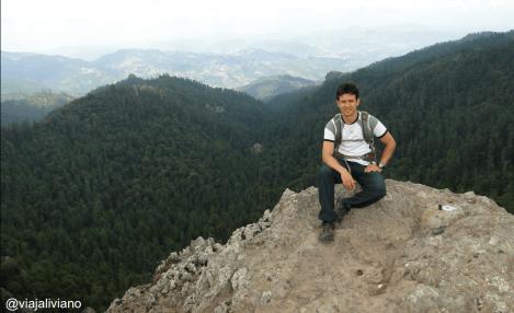 La hermosa vista en el Parque Nacional El Chico