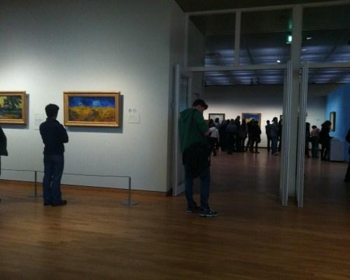 Recorriendo el museo de Van Gogh