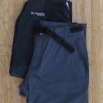 Pantalones de secado rápido y convertibles a bermuda. Uno de ellos además ofrece protección UV