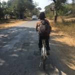 Alex en bici