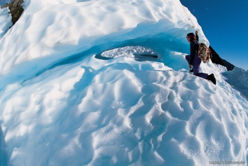 Glaciar Fox. Fotografía: AJ Hackett Bungy New Zealand