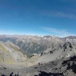 Desde la cima del pico Avalancha hacia el suroeste