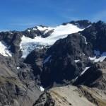 El glaciar del Monte Rolleston