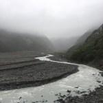 Es un acto de fe... allá está el Glaciar Franz Josef