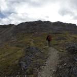 Una vez dejamos el bosque comenzó el camino de roca