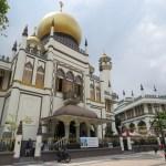Mezquita del Sultán por fuera