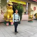El camino 2 termina (o empieza) en el templo budista