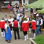 Había una feria en Castlle Rotto pero no entendimos de qué se trataba, en todo caso fue bonito ver sus trajes tradicionales