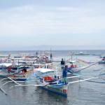 Cada uno de los botes tiene un número y van asignándose a los turistas, así todos siempre tienen trabajo
