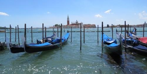 San Giorgio Maggiori desde el Gran Canal, una de las imágenes más frecuentes de Venecia