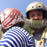 En moto de Cape Maclear hasta Monkey Beach, la seguridad ante todo