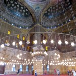El interior de la mezquita