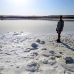 La sal seca es usada para bloques de construcción