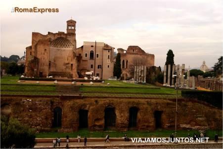 Roma. Italia, viajar por libre, Foro Romano