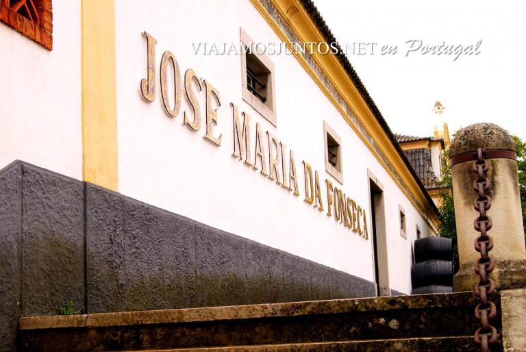 las bodegas de José María da Fonseca, el exterior