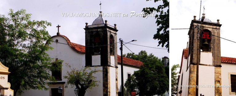 La iglesia de San Lourenso, Azeitao, Portugal