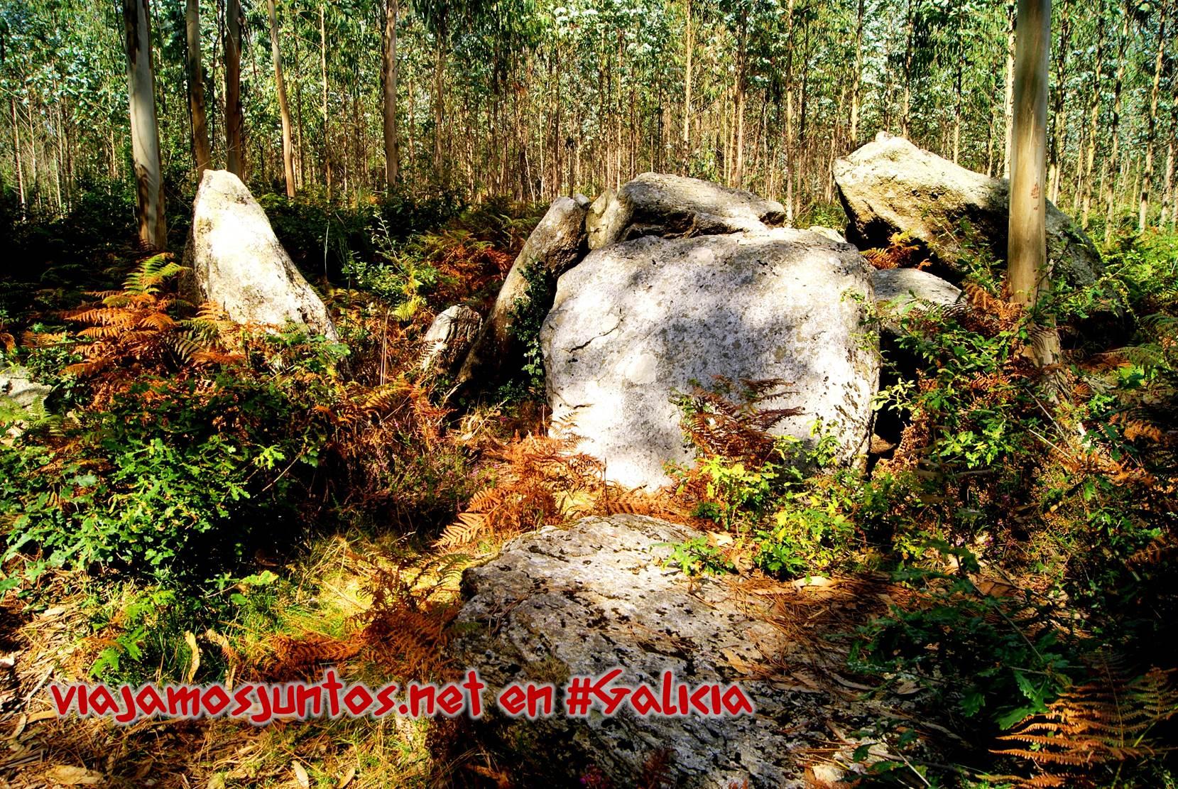 Dolmen Pedra da Lebre; Ruta de los dólmenes de Vimianzo; Dumbría, Costa da Morte, Galicia