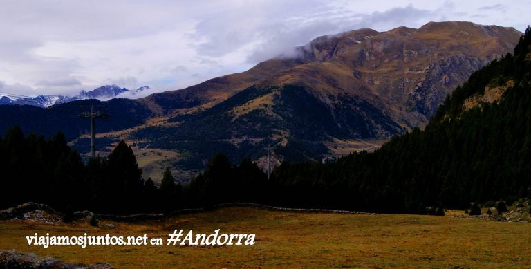 GRP de Andorra, un gran trekking alrededor del país, en los Pirineos Orientales; vistas