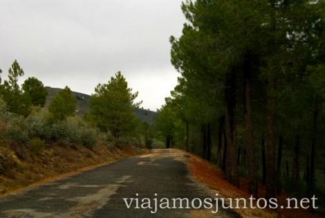 Carretera de Montaña Pueblos con encanto de la Sierra Norte de Madrid, Puebla de la Sierra, la Hiruela