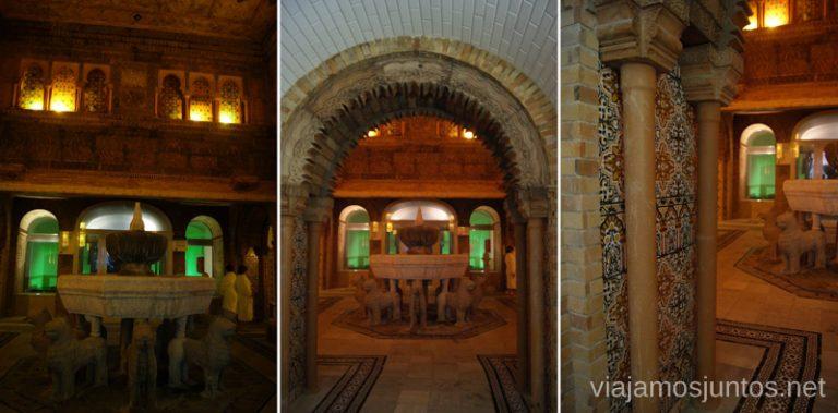Galería Termal de Arhena Balneario de Archena, Murcia #MaratónDelRelax #RumboSurJuntos
