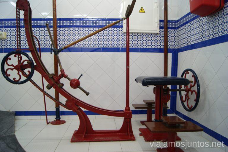 Máquinas de entrenamiento Balneario de Archena, Murcia #MaratónDelRelax #RumboSurJuntos