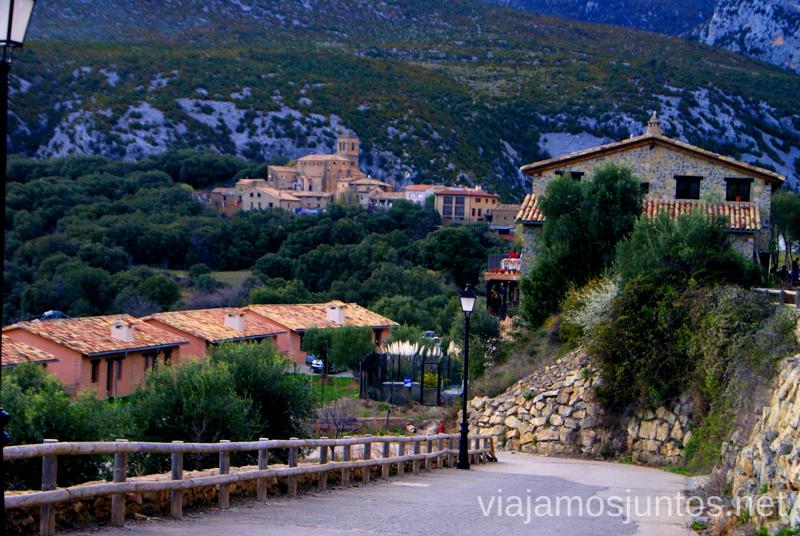 Vistas desde el parking Ruta circular Camping el Puente - Rodellar. Huesca, Aragón.