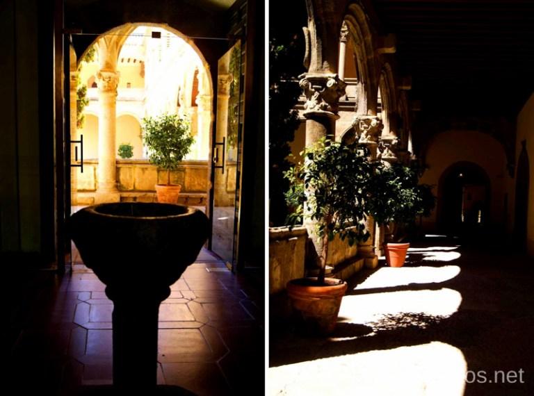 Los interiores del Monasterio Ruta de mediodía al Monasterio de Yuste y pueblo-conjunto artístico Garganta la Olla, Extremadura