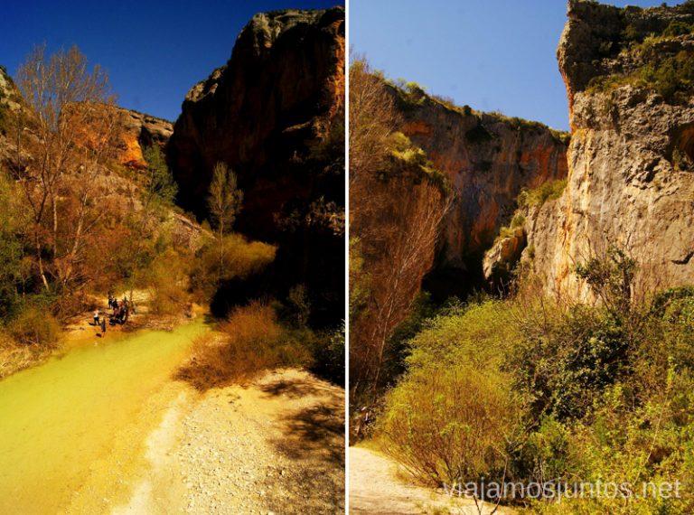 Detalles de la ruta Que ver y que hacer en Alquezar, Huesca, Aragón.