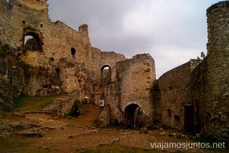 Patio interior del castillo de Spis Castillos de Eslovaquia, Slovakia, #EslovaquiaJuntos Que ver y que hacer
