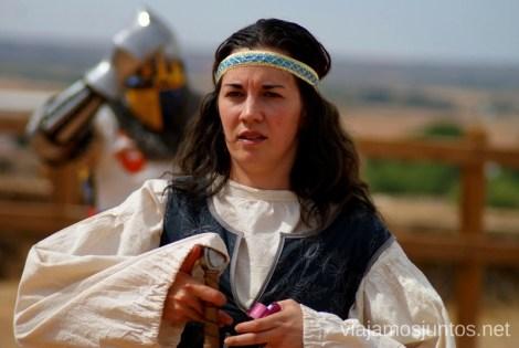 ¿Princesa? ¿Guerrera? I Torneo Internacional de Combate Medieval en el Castillo de Belmonte, Cuenca, Castilla-La Mancha #DesafioBelmonte