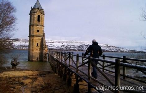 Iglesia sumergida en el pantano del Ebro El Sur de Cantabria, que ver y que hacer Lugares más desconocidos y sorprendentes