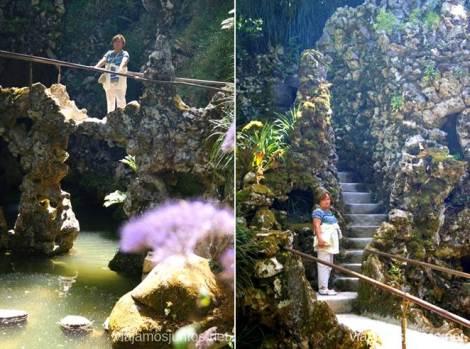 Sube, baja, entra, sal - disfruta de Quinta de la Regaleira Que ver en Sintra, nuestro itinerario de un día por los parques y palacios #ViajarConSuegra