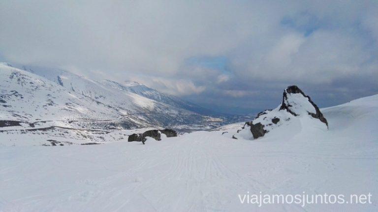 Mi rincón secreto, con vistas a Breñavieja y las carreteras hasta Alto Campoo y el Refugio Esquiar en Alto Campoo. Descripción de mi estación de esquí favorita de Cantabria