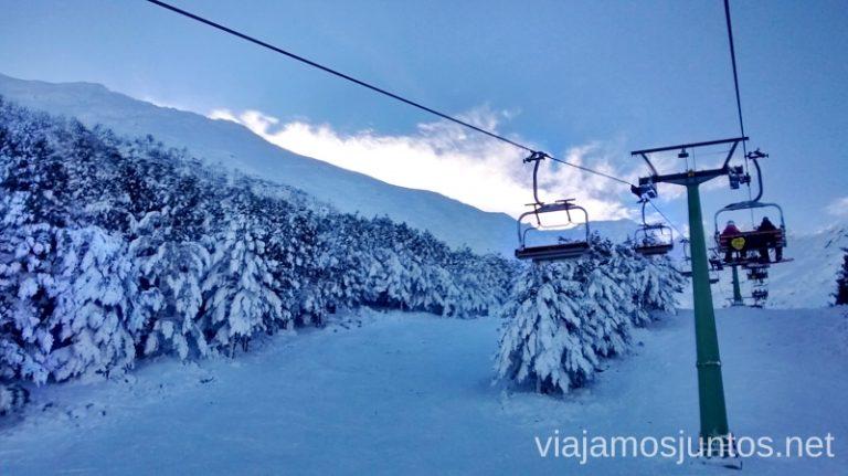 Una de las estaciones más cercanas de Madrid - la Pinilla Nuestras estaciones de esquí favoritas. Dónde esquiar y cómo ahorrar