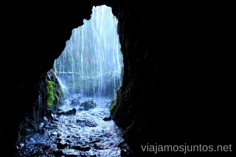Túnel #12 Ruta de los Nacientes de Marcos y Cordero, la Palma, Islas Canarias