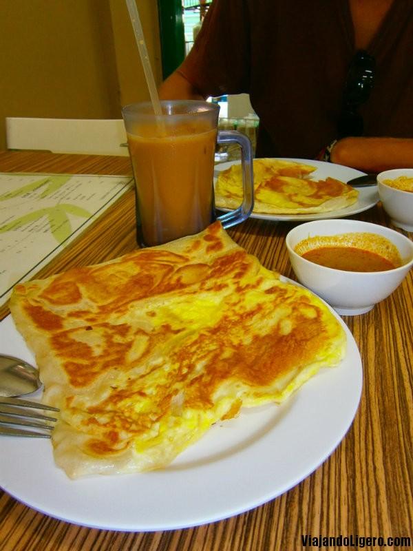 Comida de Singapur  Viajando Ligero