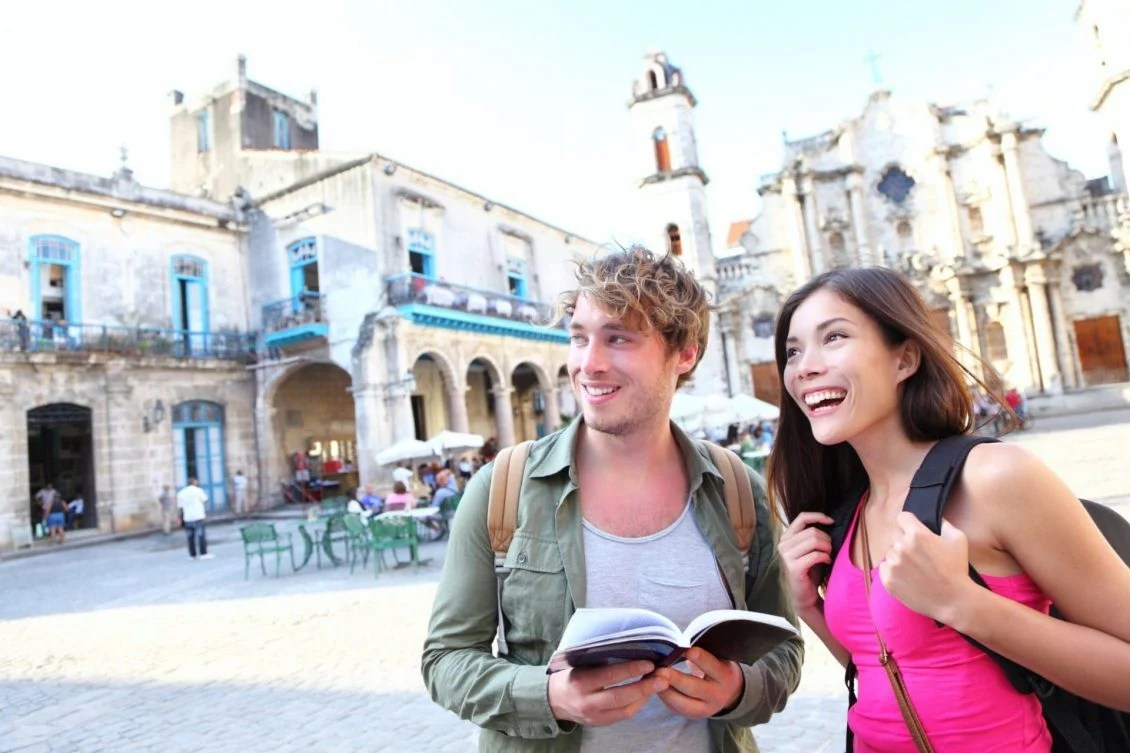 Turistas na Italia